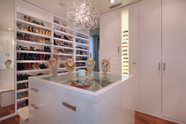 View Full Size Chic Walk In Closet