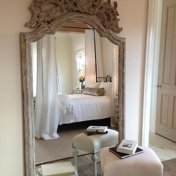bedroom floor mirror. Ornate Wood Floor Mirror White Design Ideas
