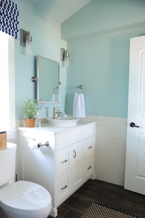 More bathroom ideas paint blues blue bathrooms decor for Bathroom color ideas blue