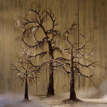 Lit Spooky Twig Trees, Pottery Barn