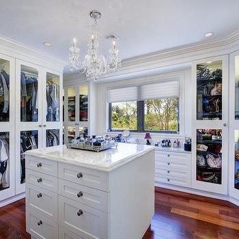 Closet Dresser Island Design Ideas