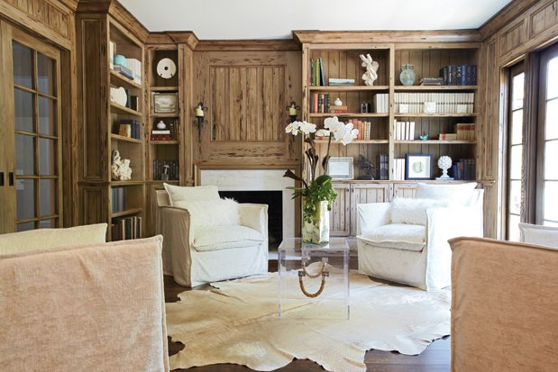 Pecky Cypress Wood Paneling Design Ideas