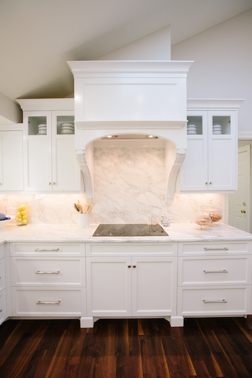 Kitchen Hood Corbels Design Ideas