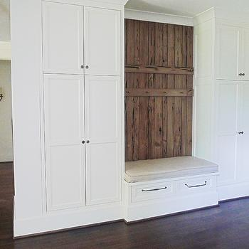 Foyer Corner Coat Closet Design Ideas
