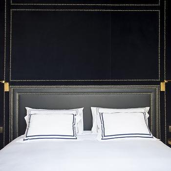 Navy Bedrooms, Transitional, bedroom, Only You Hotel