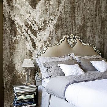 Baroque Headboard, Eclectic, bedroom