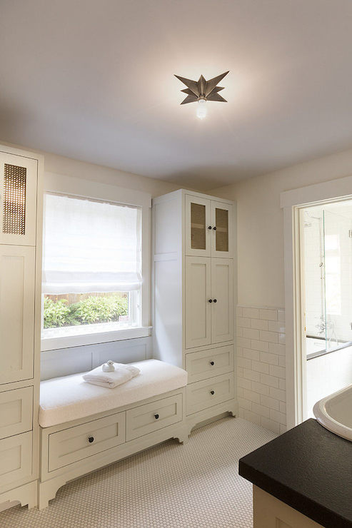 Bathroom Window Seat Transitional Bathroom Hsh Interiors