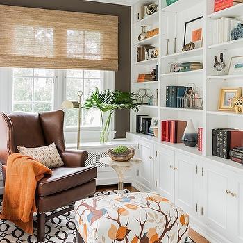 Den Built Ins, Transitional, den/library/office, Erin Gates Design