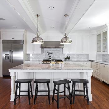 Kitchen Island Turned Legs, Transitional, kitchen, Urban Building Group