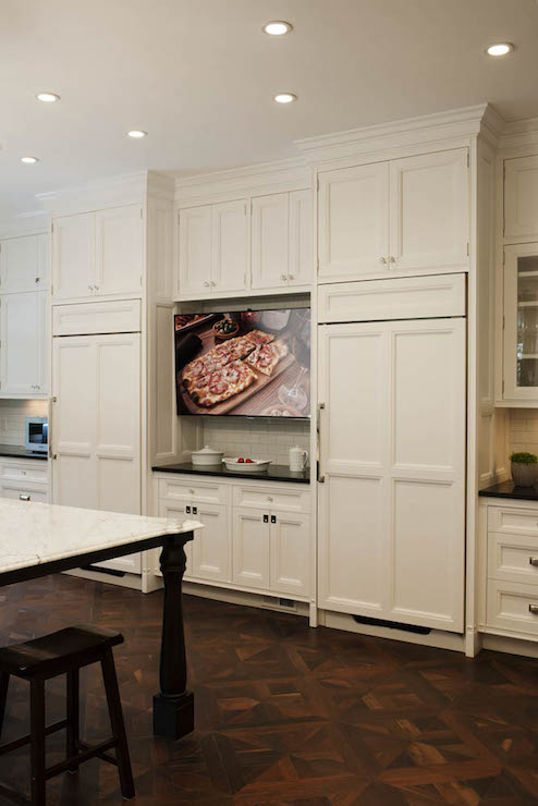 Kitchen TV Ideas - Transitional - kitchen - Crown Point ...