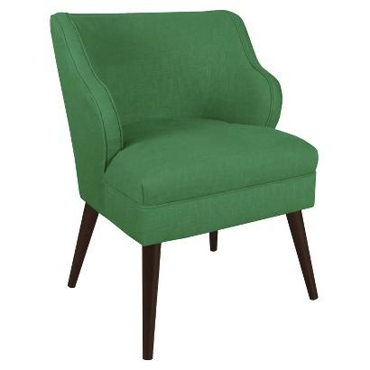 Remarkable Skyline Green Accent Chair Ibusinesslaw Wood Chair Design Ideas Ibusinesslaworg
