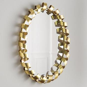 Coiled Ribbon Mirror I Neiman Marcus