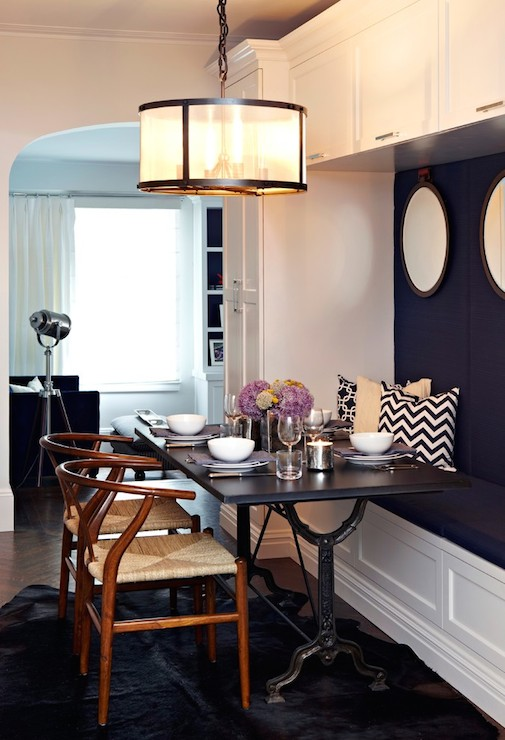 Bluestone & Cast Iron Pedestal Rectangular Dining Table ...