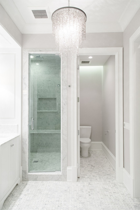 Athena crystal chandelier smoke transitional bathroom pld athena crystal chandelier smoke mozeypictures Images