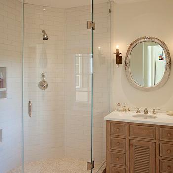 Corner Shower Ideas, Transitional, bathroom, Matarozzi Pelsinger Builders