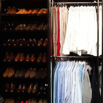 Masculine Walk In Closet Design Ideas