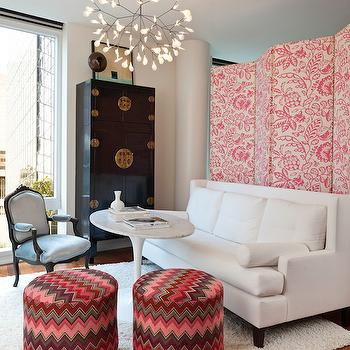 Room Divider Ideas, Contemporary, living room, Hyde Evans Design