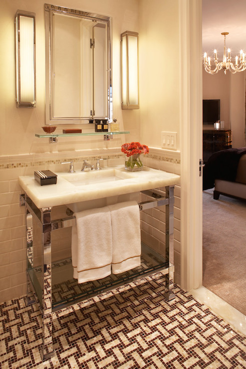 Urban Archaelogy Metropolitan Washstand - Transitional bathroom