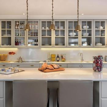 Light Grey KItchens, Contemporary, kitchen, Finchatton