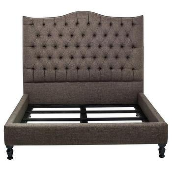 inncdesign Tufted Nicole Queen-sized Bed, Overstock