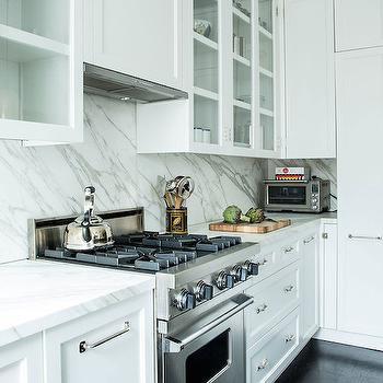 Narrow Kitchen Hood, Transitional, kitchen, Lonny Magazine