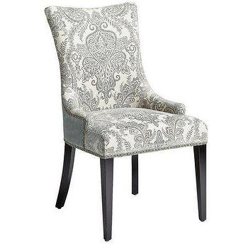 Haute House Tiffany Damask Various Colors Chair