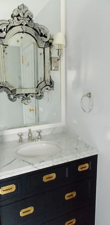 Campaign Bathroom Vanity Design Ideas