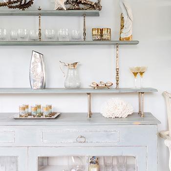 Distressed Buffet Cabinet, Cottage, dining room, Ohara Davies Gaetan