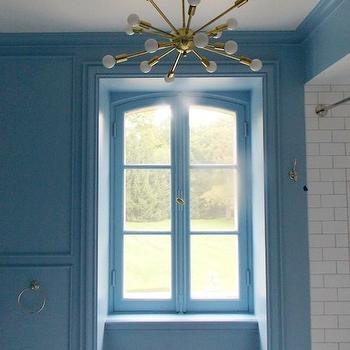 Lulworth Blue, Transitional, bathroom, Farrow and Ball Lulworth Blue, Christine Dovey