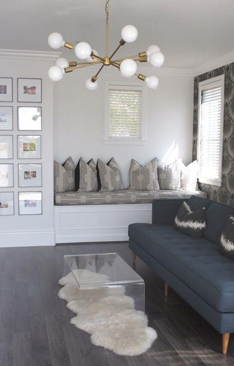 Reading Nook Ideas Contemporary Living Room Owens And Davis