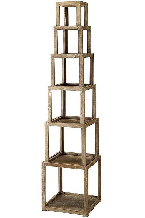 brooklyn stackable etagere. Black Bedroom Furniture Sets. Home Design Ideas