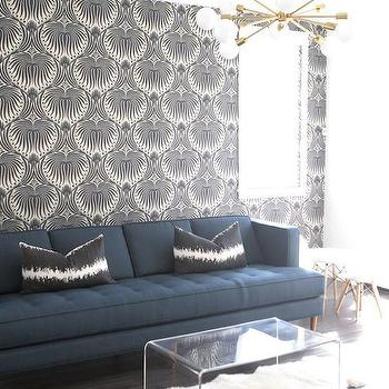 Gray Lotus Wallpaper Design Ideas