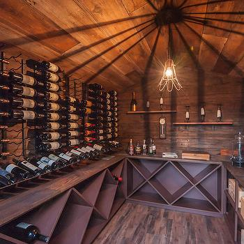 Rustic Wine Cellars & Rustic Wine Room Design Ideas