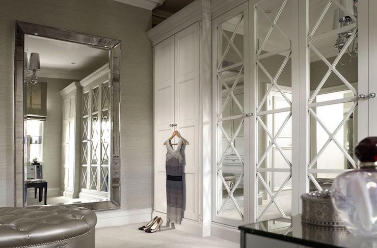 Elegant Closets walk in closet venetian mirror design ideas
