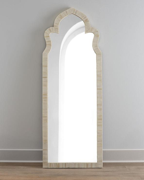 ships freight wall paneled metal grand grande xl via arched truck black floor mirror arch floors itm