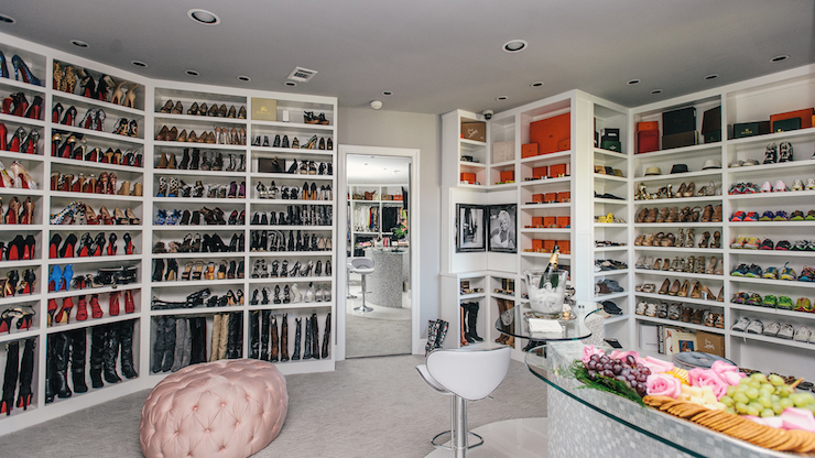 Marvelous Shoe Closets