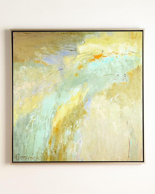 John Richard Collection Blue And Gold Shade Giclee