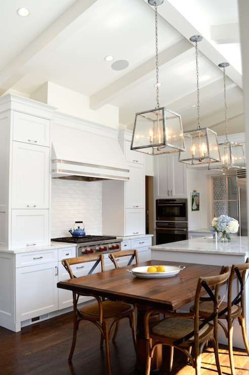 Cream Kitchen Cabinets Transitional Kitchen Murphy