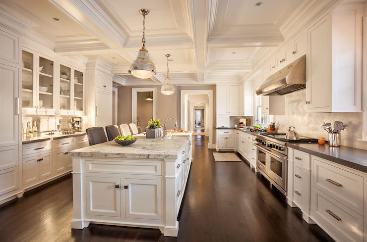 Long Kitchen Ideas - Transitional - kitchen - Garrison ... on ideas for kitchens paint, ideas for kitchens plumbing, ideas for kitchens art, ideas for kitchens design,