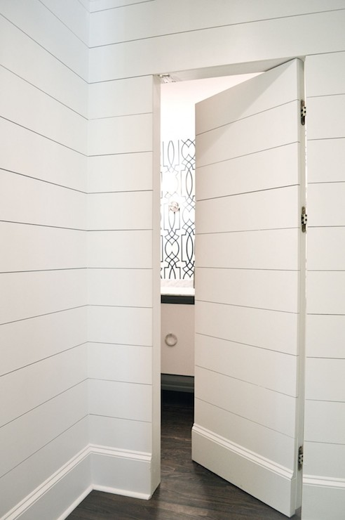 Hidden Doors & Hidden Doors - Contemporary - bathroom - Amanda Orr Architects