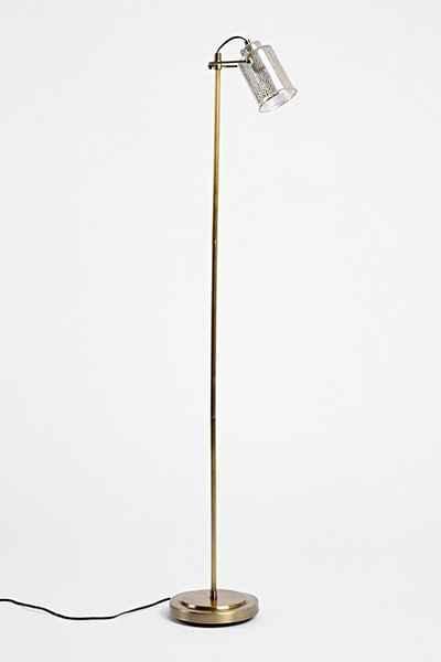 celia mercury glass gold floor lamp. Black Bedroom Furniture Sets. Home Design Ideas