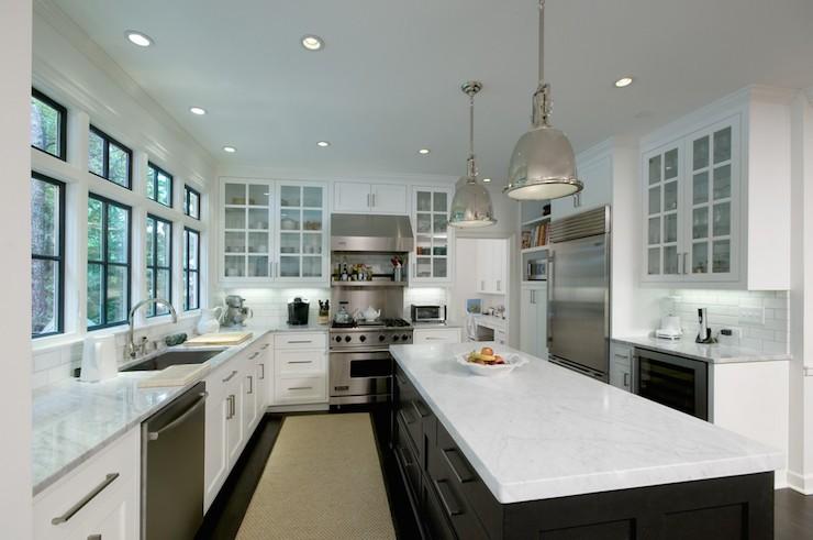 Oven Next To Fridge Transitional Kitchen Frasier Homes
