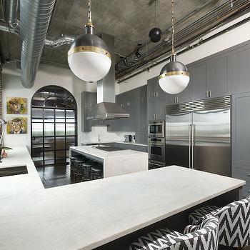 Loft Kitchens, Contemporary, kitchen, Either Orr