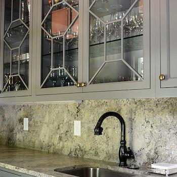 Gray Granite Countertops, Transitional, kitchen, Either Orr