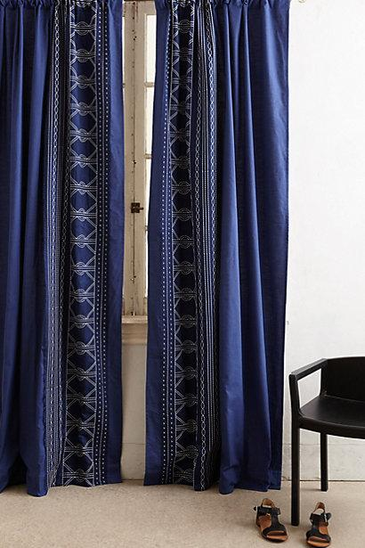panel darkening drapes rod window navy curtain bath blue stripe panels d pocket bed cor room pair beyond lush from buy