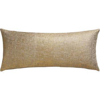 glitterati gold pillow I CB2