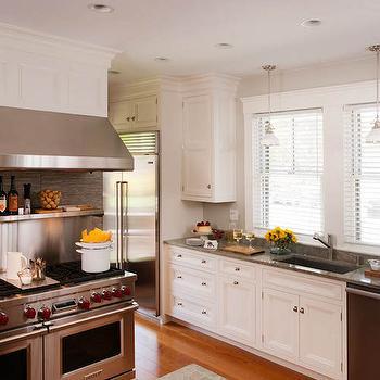 stainless steel kitchen contemporary kitchen sotheby. Black Bedroom Furniture Sets. Home Design Ideas