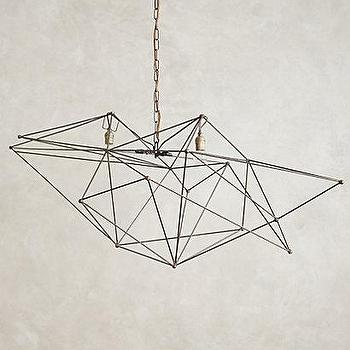 Modern gold wire chandelier products bookmarks design grey iron web chandelier aloadofball Image collections