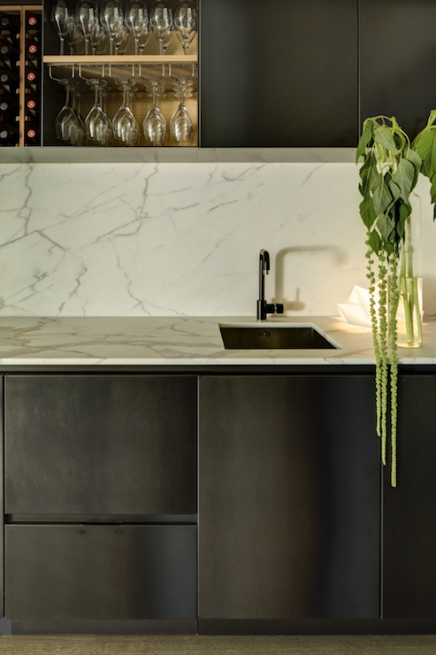 Wet Bar Sink Transitional Kitchen Thornton Designs