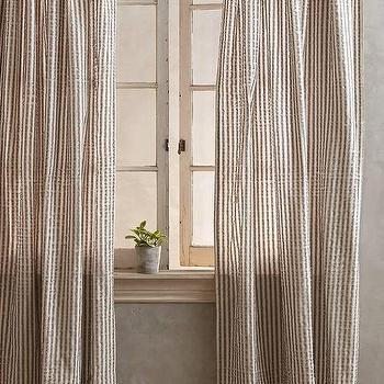 Fringed Toulon Curtain I Anthropologie